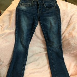 Size 0 American eagle Kick Boot Jeans